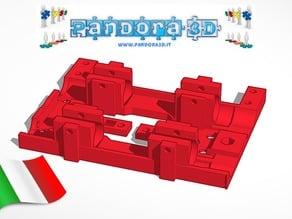 Pandora 3D - progetto open source made in Italy - carrello