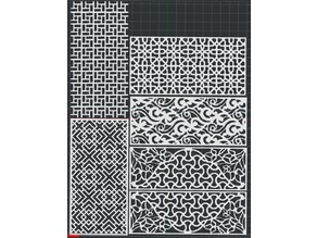 Patterns 5 Styles 2D Wall Art