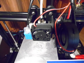 Tronxy X3a stock extruder cover