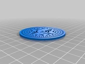 7 bit absolute encoder wheel