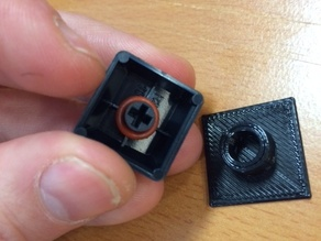 Cherry MX key cap rubber o-ring mount tool