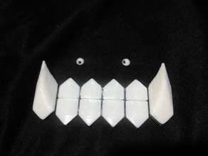 Greed Teeth Halloween Cosplay from Full Metal Alchemist