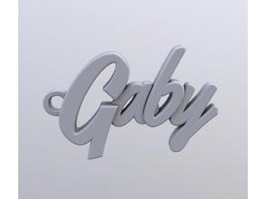 Gaby keychain