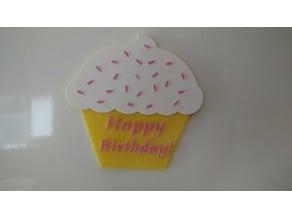 Cupcake birthday gift