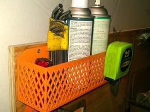 Cabinet Door Rack or Parts Bin