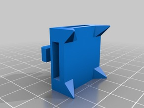 Sfx-100 100x100 Extrusion Servo Cable Holder