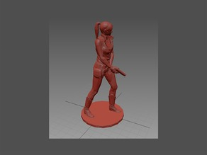 Resident Evil - Claire Redfield - Pose01