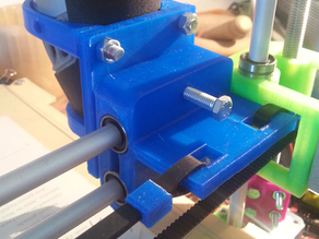 Better X Carriage for PrintrBot