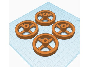 Simple Wheels for robots