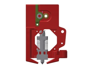 Ender3 / CR10 - Direct extruder conversion kit with integrated cooling