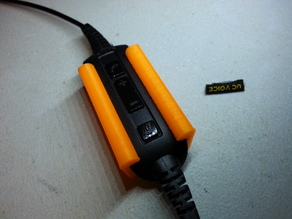 Safety Bumper for Jabra UC550 Headset Control