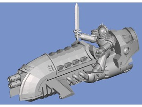 Hover Rider Captain (28mm)