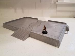 (remix) star wars legion landing pad for Ender 3 printers