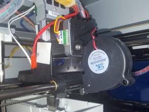 Da vinci e3d turbine fan mount