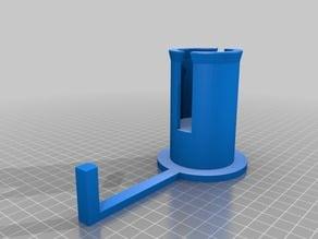 Felix 3D Printer Filament Spool Holder and Guide