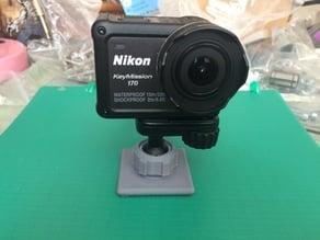 Nikon KeyMission ball socket mount