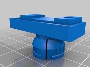 Adjustable Filament Sensor mount for Monoprice Mini Select