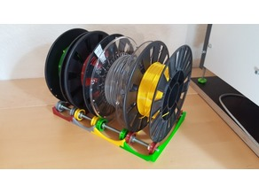 Modular multi spool holder for Mosaic Palette+, Palette2 and other