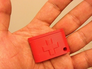 Keychain Pill Box