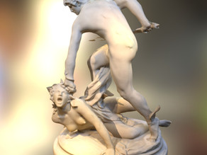 Perseus fighting Medusa
