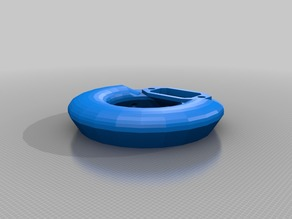 EsaBlower - A toroidal blower for Anycubic Delta Printers