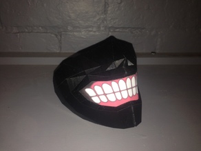 Tokyo Ghoul Inspired Mask