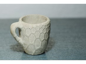 texturized espresso cups