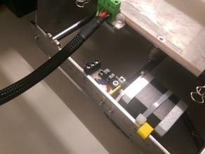 Optical y endstop for Prusa i3 Steel in OpenSCAD