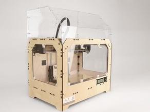 Laser cut Acrylic Casing for Replicator 1