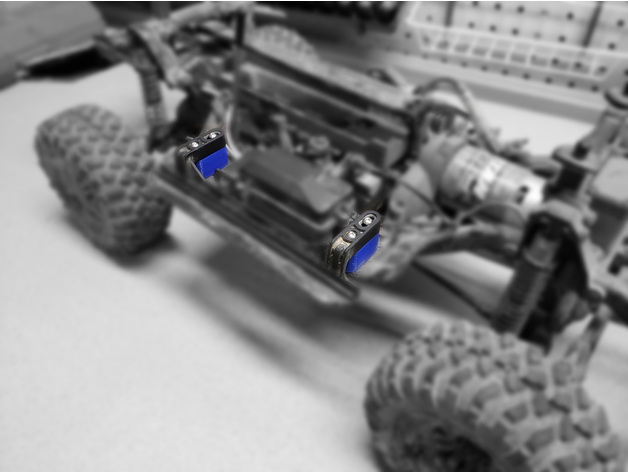 Trx4 Rock Slider Spacers
