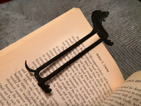 "Dachshund ""Weiner Dog"" Bookmark"