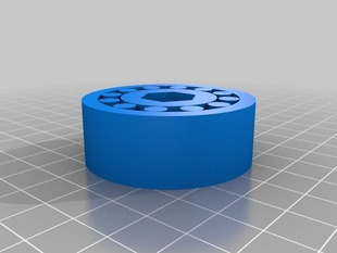 Wheel with Cylinder Bearings V3
