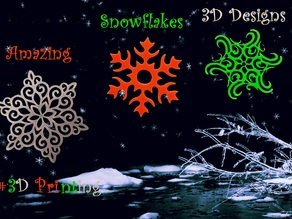 3 Amazing Snowflakes Designs