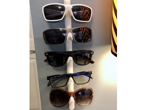 Expandable Sunglasses / Glasses Holder Wall Mount