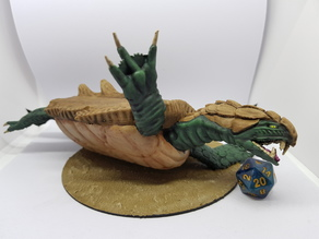 Dragon Turtle for 28mm tabletop gaming