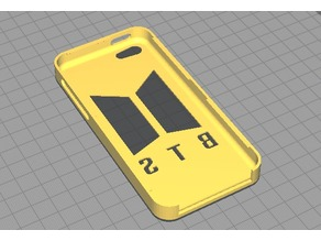 BTS Iphone 5C case