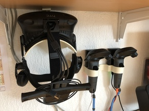 HTC VIVE storage and load Headset, 2 Controllers, 2 Batteries for Wireless