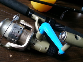 Fishing reel handle