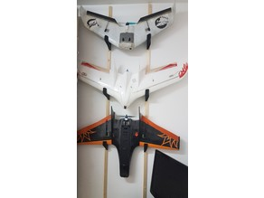 Wings Wall Mount, S800, C1 Chaser and Mini Drak