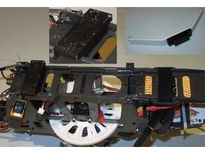 Blade550 landing gear adaptor