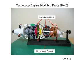 Turboprop Engine Modified Parts (No.2)