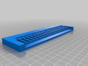 Lego ruler