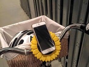 Sunflower iPhone 6 Bike Mount