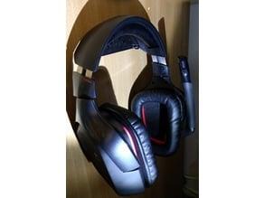 Logitech G930 headphone wall hook