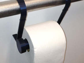 Toilet Paper Holder for Disabled Access Hand Rail