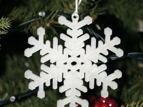 Traditional snowflake