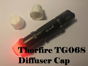 ThorFire TG06S Flashlight Diffuser Cap
