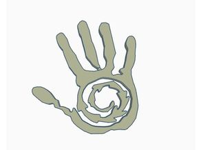 The 100 Azgeda (Ice nation) Symbol