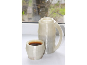 PLA Thermocup for hot liquides, tea, coffee