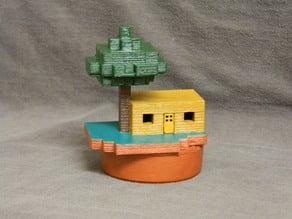 Minecraft Small House